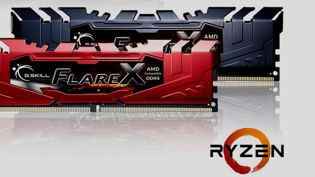 Ryzen-RAM: Erstes Speicherkit mit 3.466 MHz als Flare X von G.Skill