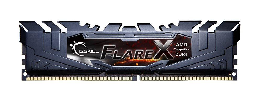 G.Skill Flare X und Fortis für Ryzen – Flare-X-Modul in Schwarz