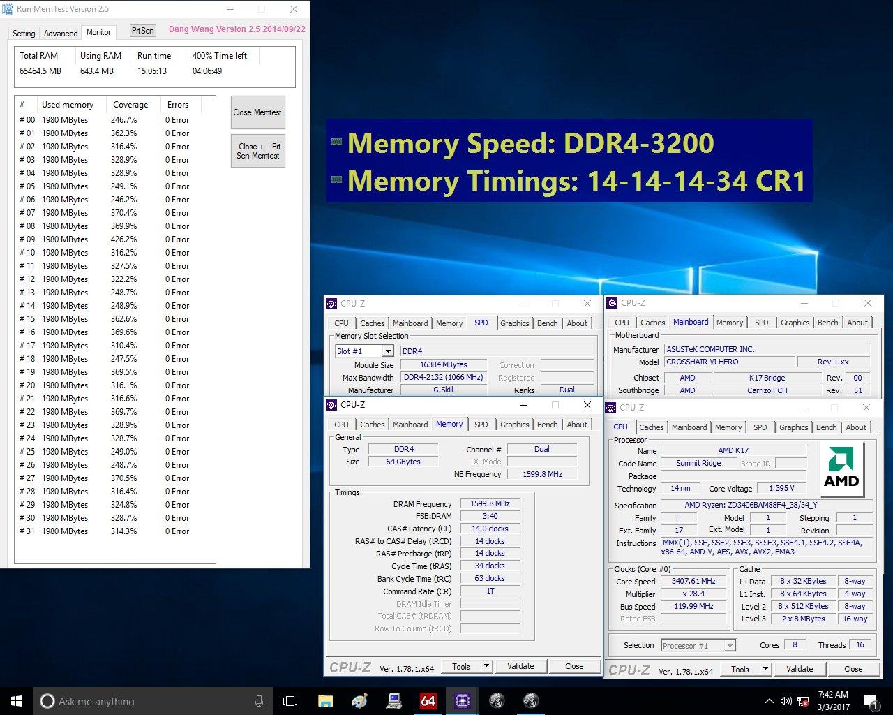 G.Skill Flare X für Ryzen – als 64 GByte Bundle nur als DDR4-3.200-Kit aber schärferen CL14-Timings