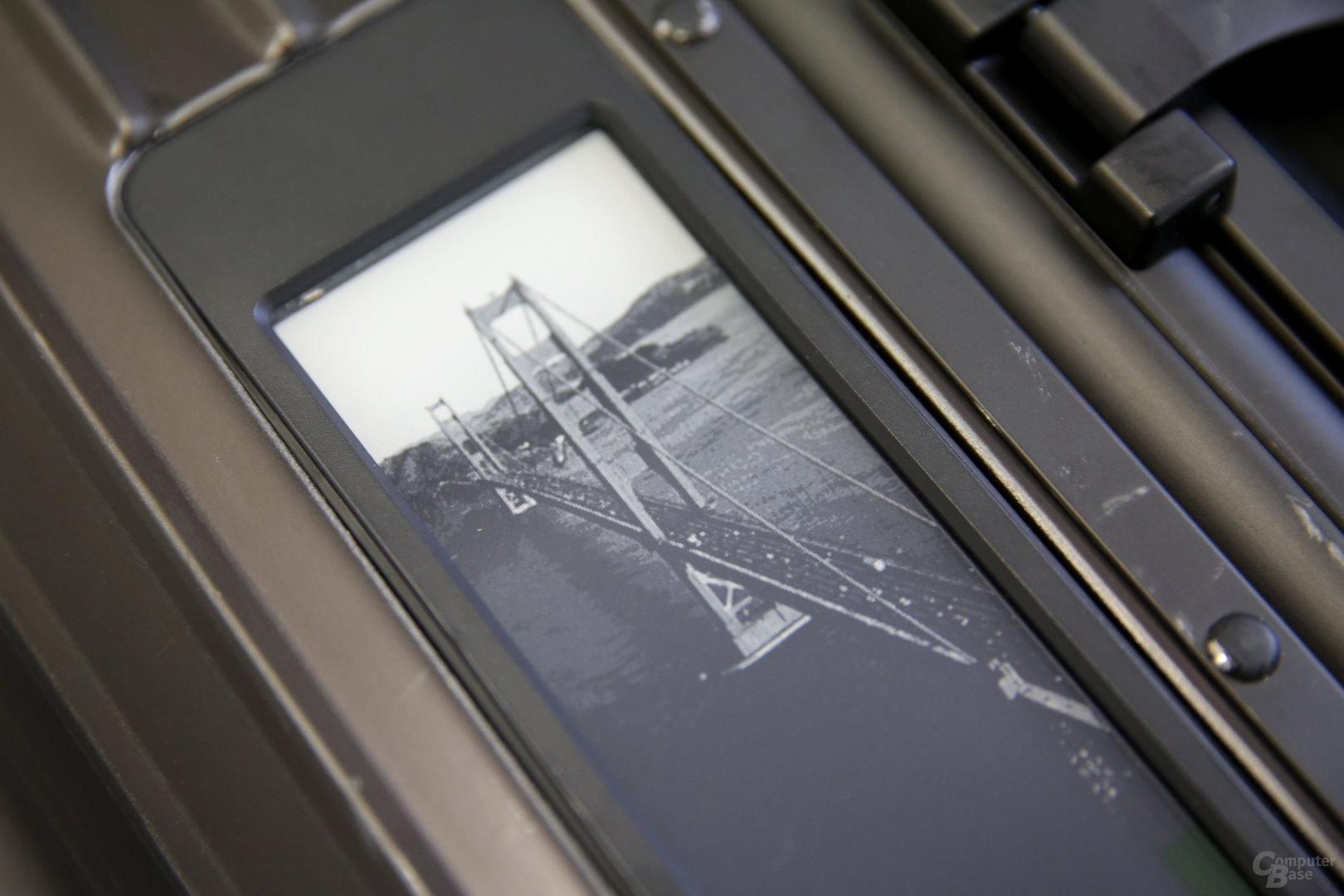 Motiv San Francisco mit Golden Gate Bridge im Detail
