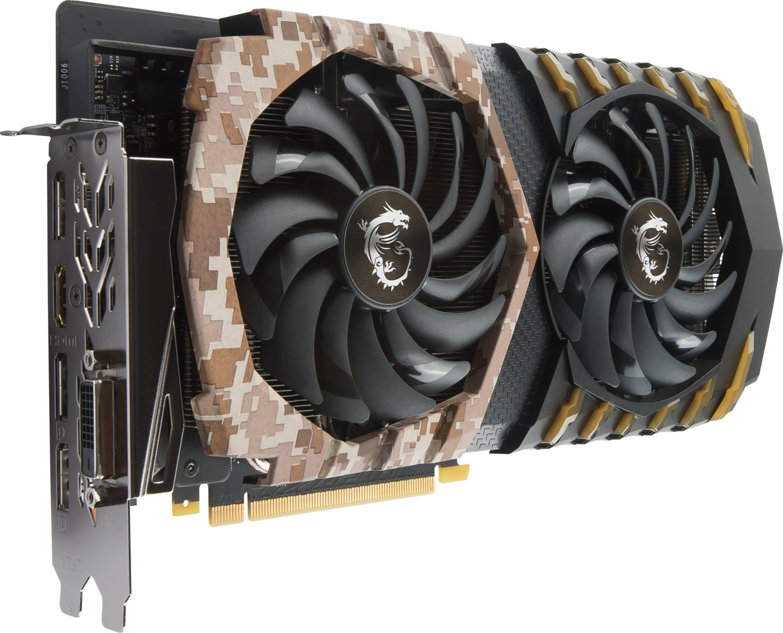 MSI GeForce GTX 1060 Camo Squad 6G