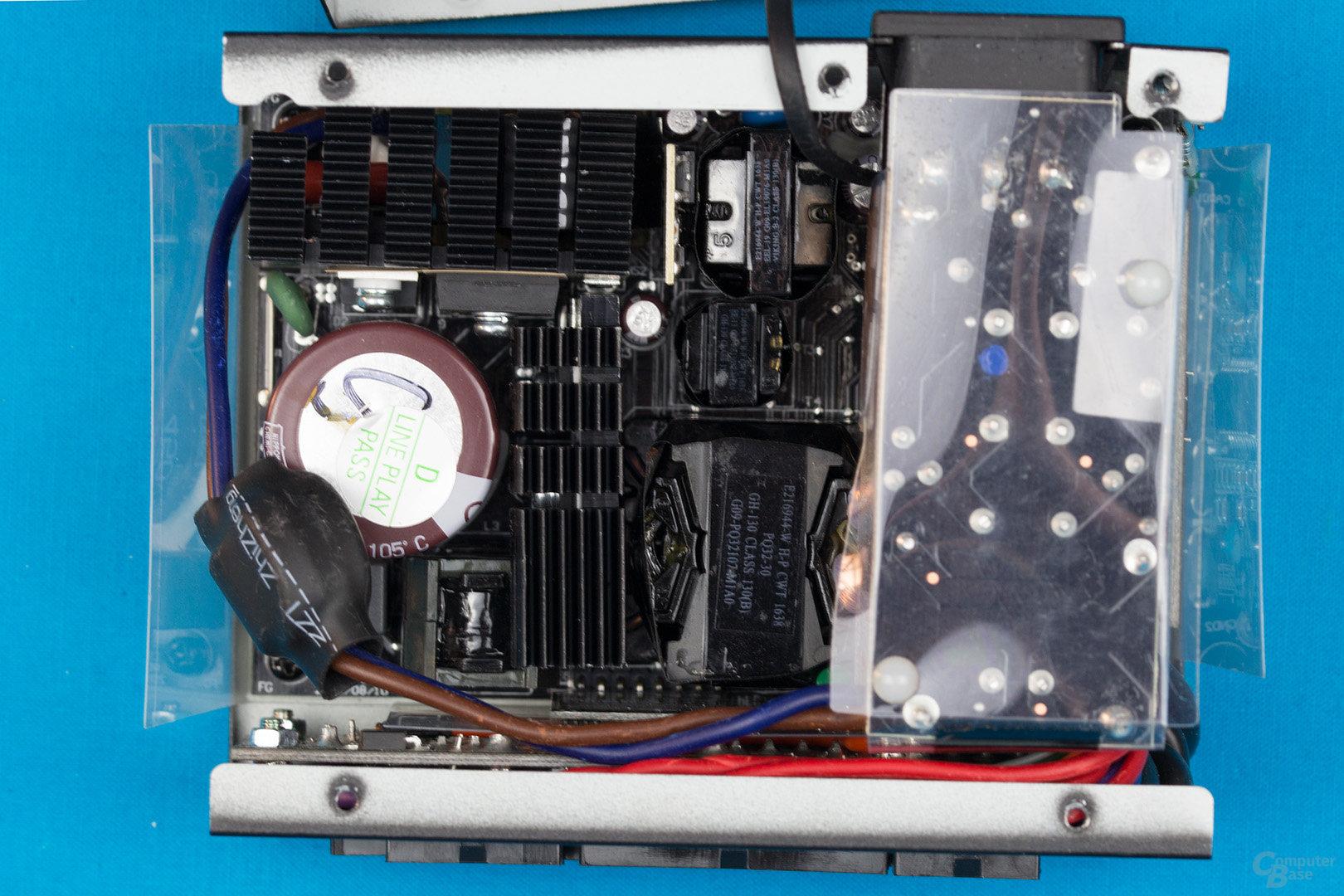Enermax Revolution SFX 550W – Überblick Elektronik