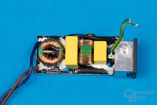 Enermax Revolution SFX 550W – Eingangsfilter