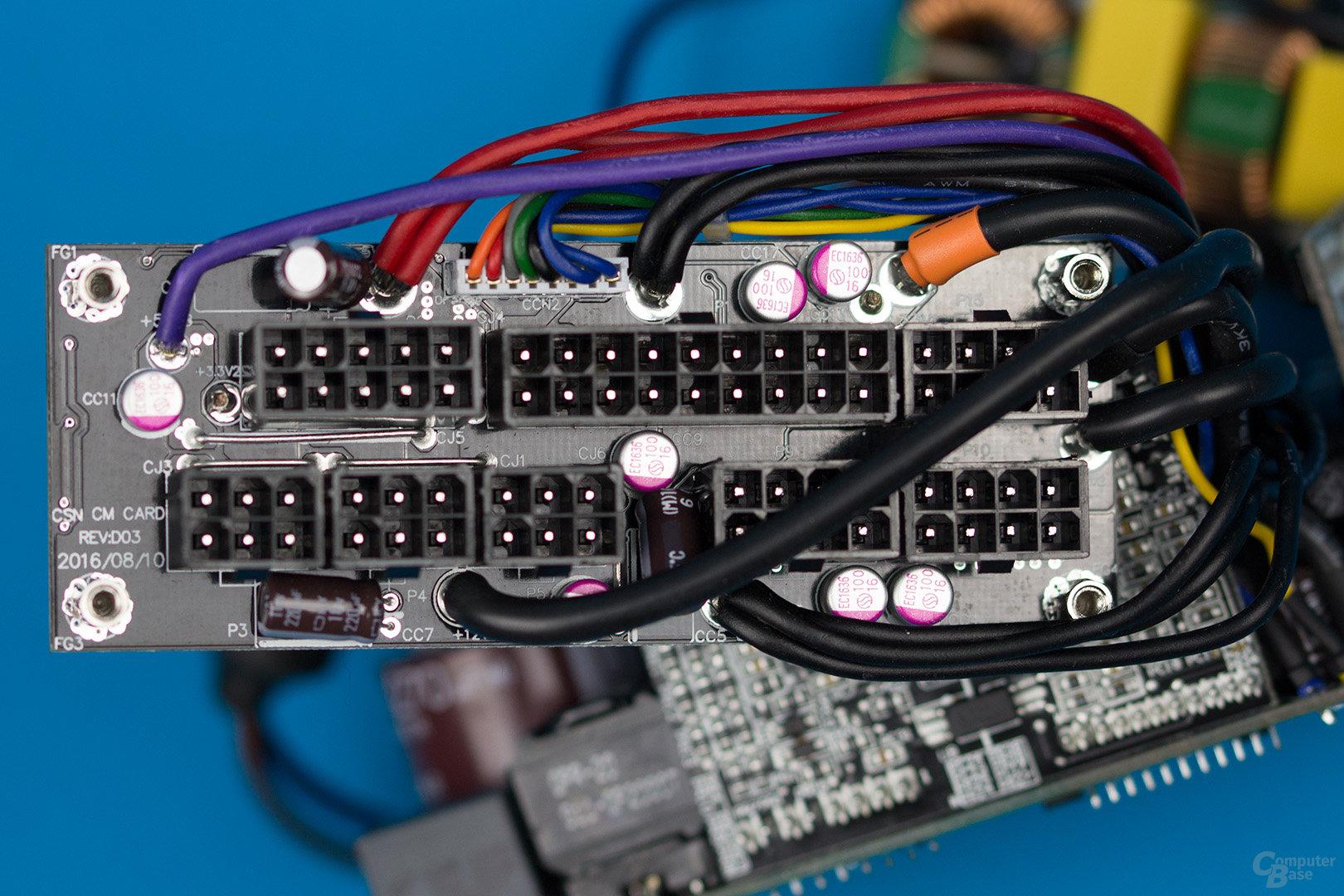 Enermax Revolution SFX 550W – Anschlussplatine