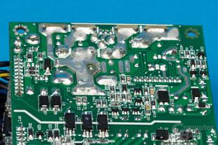 Enermax Revolution SFX 550W – Lötqualität (Sekundärseite)