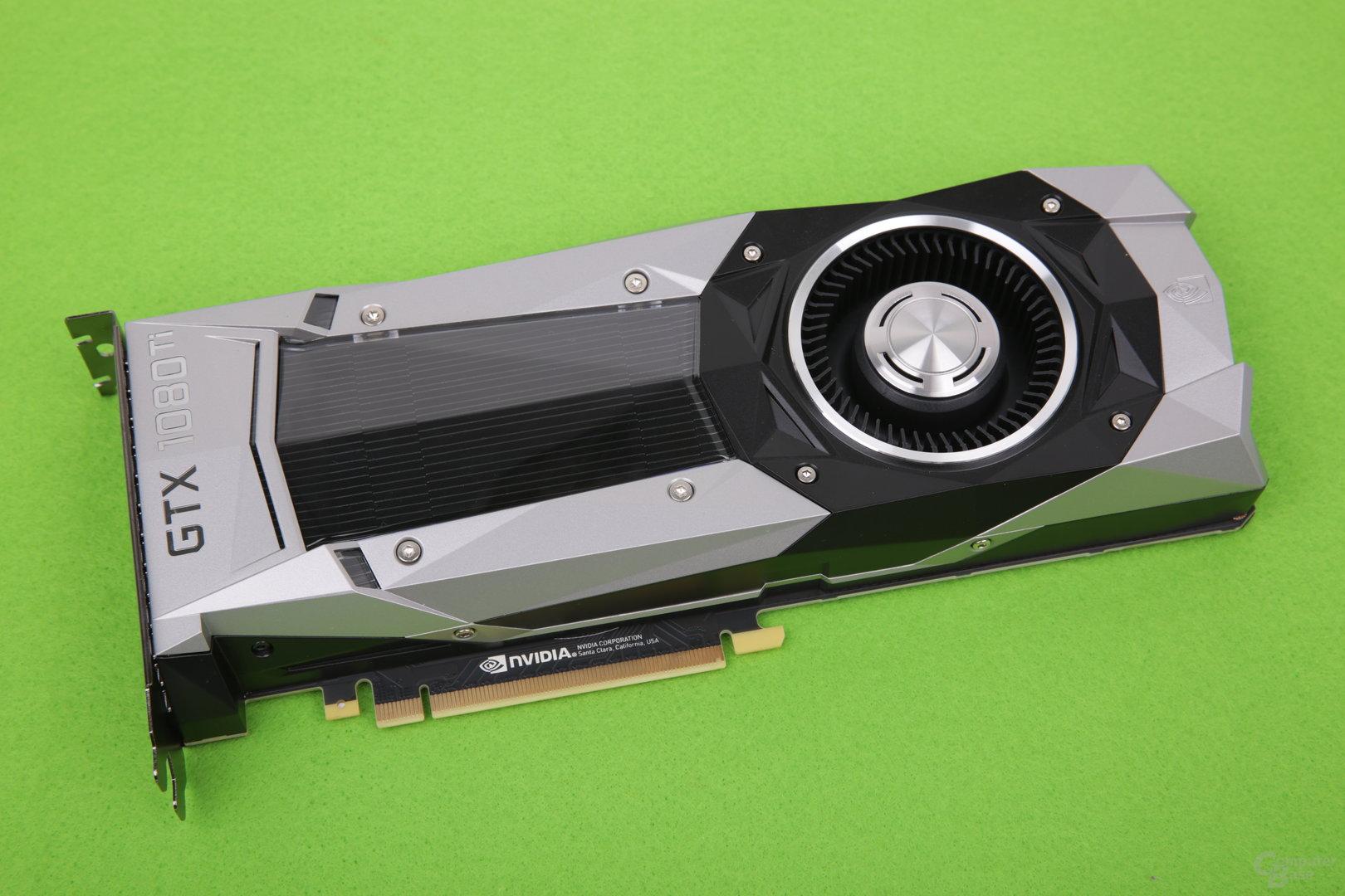 Schneller als mit der Nvidia GeForce GTX 1080 Ti Founders Edition geht es aktuell nicht