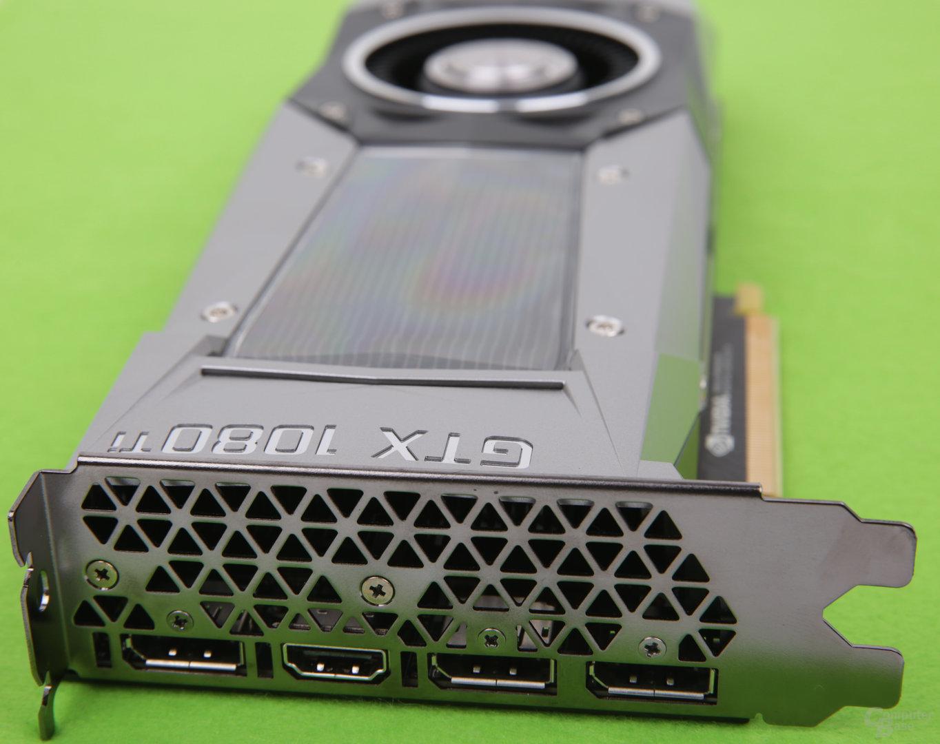 GeForce GTX 1080 Ti FE - Monitoranschlüsse