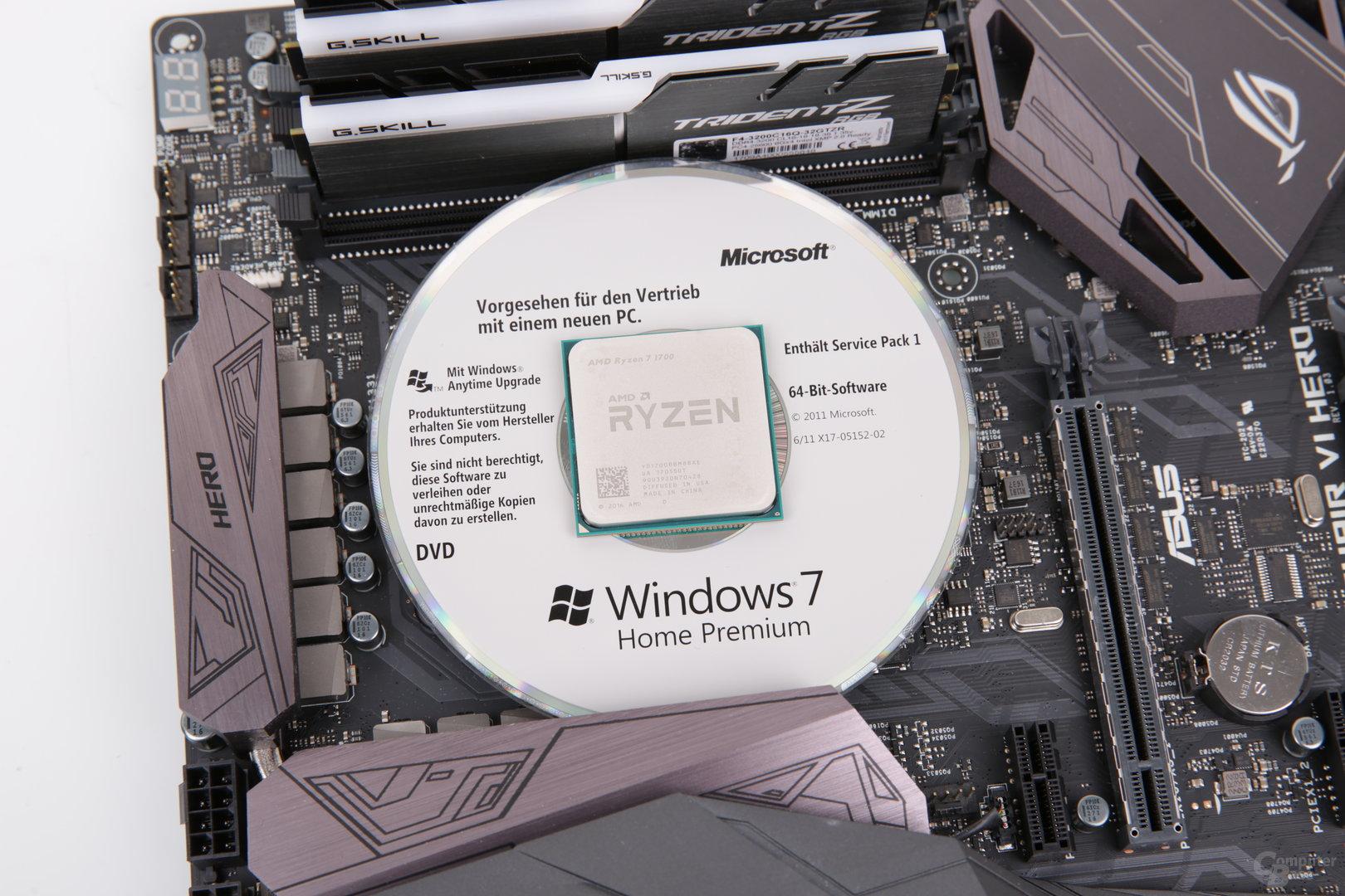 AMD Ryzen auf Windows 7