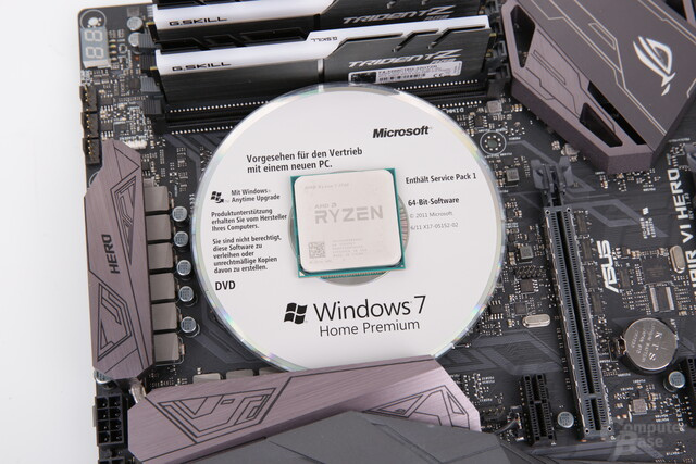 AMD Ryzen auf Windows 7