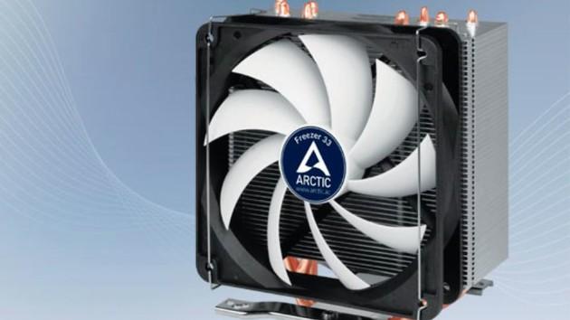 Arctic Freezer 33 & 33 Plus: Semipassiver Towerkühler lässt Lüfter stehen