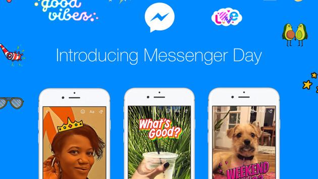 Messenger Day: Auch Facebook folgt dem Live-Feed-Trend