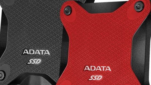 Adata SD600: Externe 3D-NAND-SSD im sportlichen Backplate-Design