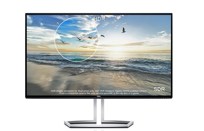 "S2418NX mit ""Dell HDR"""