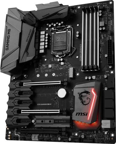 MSI Z270 Gaming M6 AC – schlichte Optik und viel Ausstattung für Kaby-Lake-Prozessoren