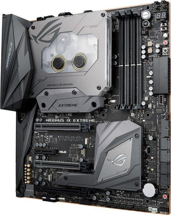 Asus ROG Maximus IX Extreme – Mit mehr USB-Anschlüssen und PIN-Headern als noch beim Vorgänger