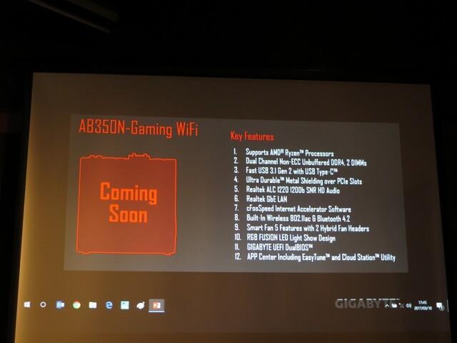 Gigabyte AB350N-Gaming WiFi