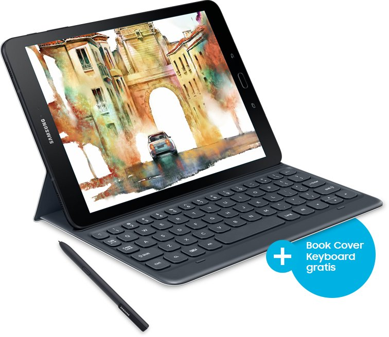 Aktion: Galaxy Tab S3 mit gratis Book Cover Keyboard