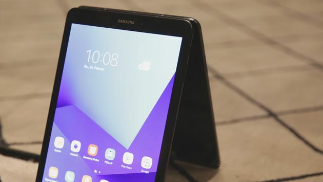 Samsung Galaxy Tab S3: Gratis Book Cover Keyboard für Vorbesteller