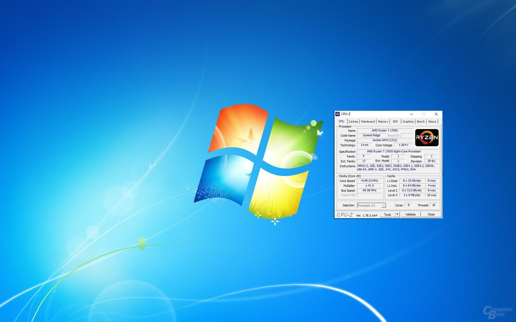 Anleitung: Windows 7 auf AMD Ryzen (AM4) installieren