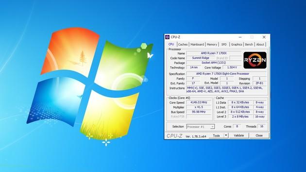 AMD Ryzen: Anleitung zur Installation von Windows 7 auf AM4