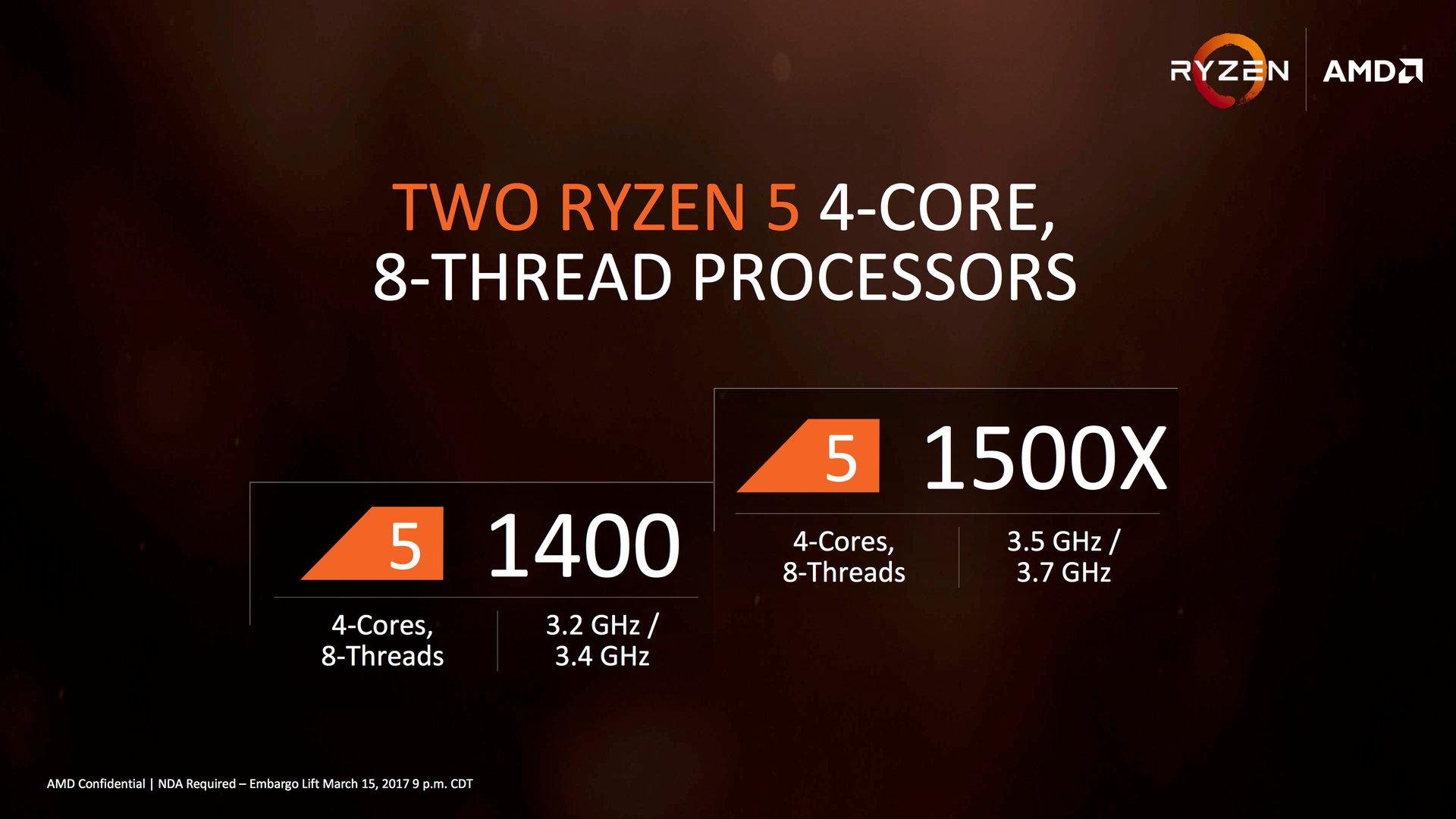 AMD Ryzen 5: 4- und 6-Kern-CPUs ab 169 US-Dollar