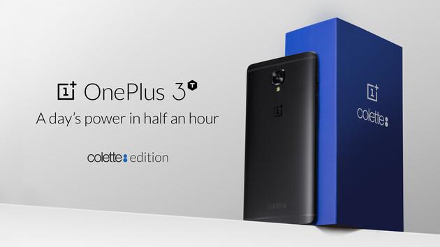 OnePlus 3T colette edition: Komplett in Schwarz nur 250 Mal in Paris zu kaufen