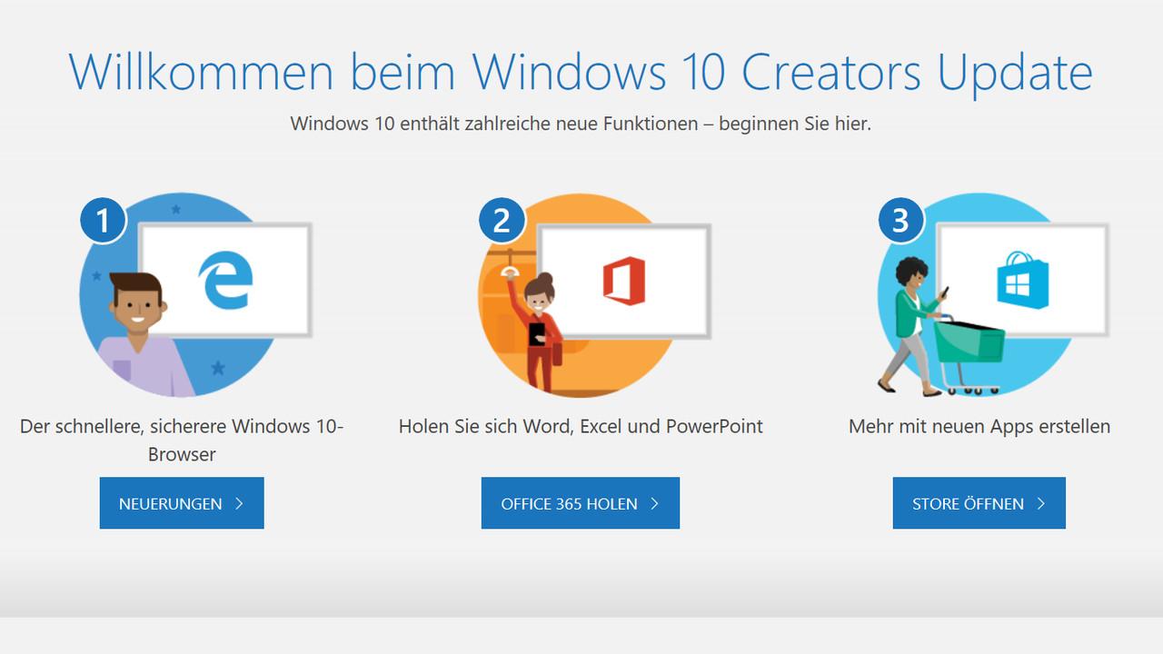 Windows: Build 15058 ist noch nicht das Creators Update