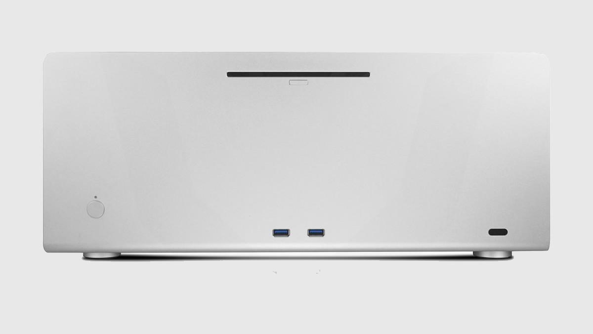 Streacom F12C Optical: HTPC-Gehäuse jetzt mit Front-USB und DVD-Laufwerk