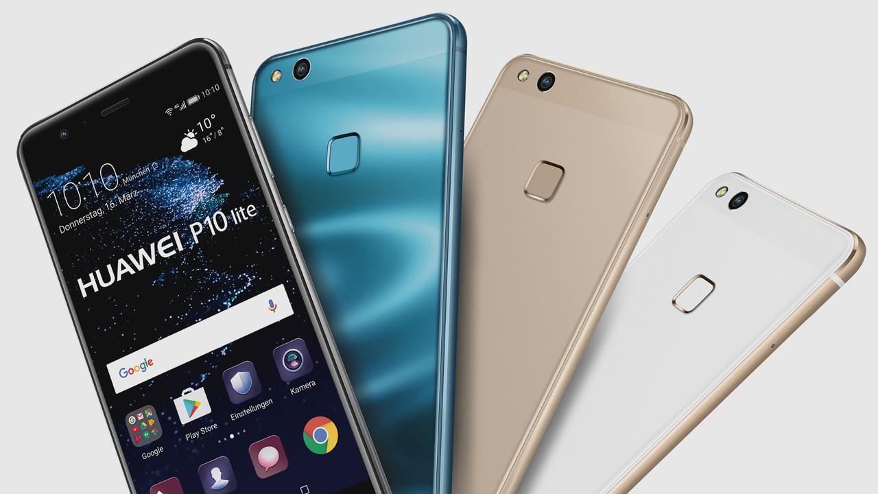 Huawei P10 Lite: Mittelklasse-Modelle ohne Dual-Kamera für 349 Euro