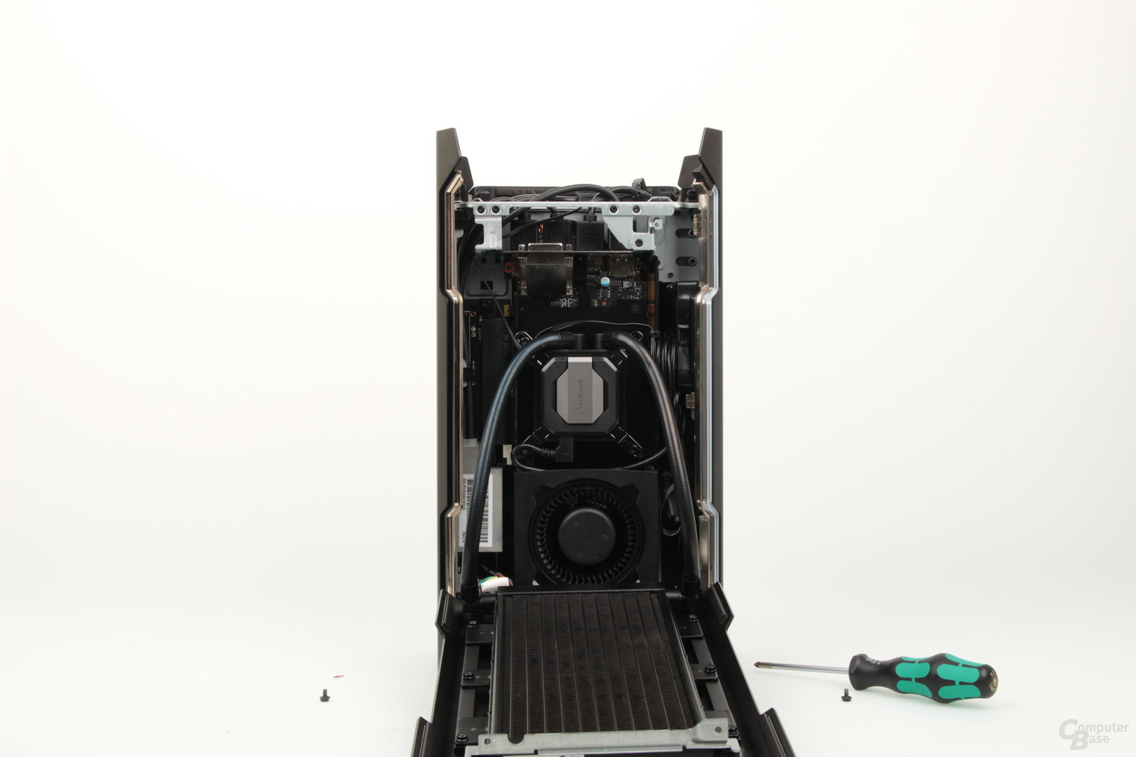 Blick auf die GPU-Kammer