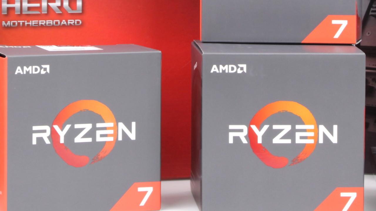 AMD Ryzen 7 1700X: Preis des Achtkern-Prozessors fällt unter 400-Euro-Marke