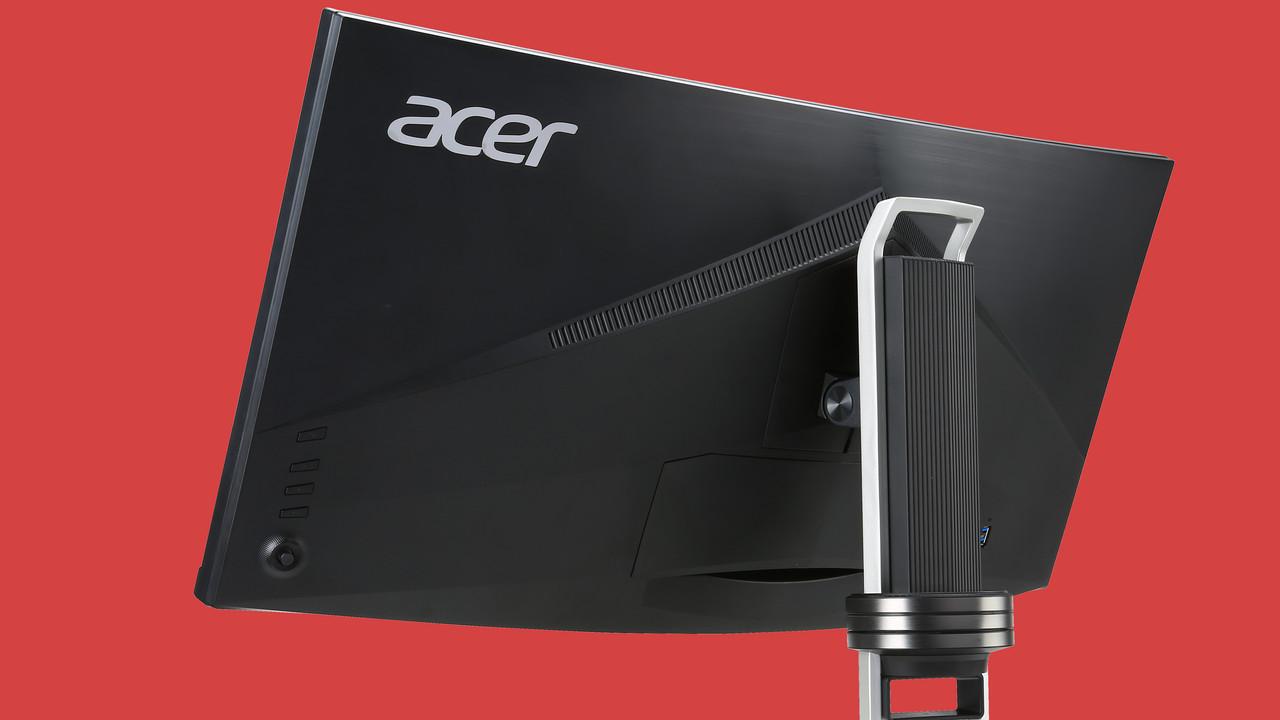 Acer XR382CQK: Gewölbter 38-Zoll-Monitor mit 3.840 × 1.600 kommt im April