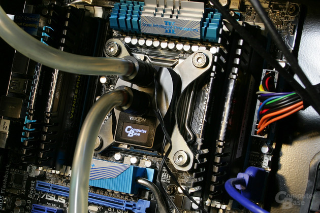 Aqua Computer Cuplex Kryos Next (Vario und Vision) im Testsystem