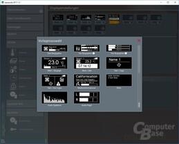 Aqua Computer Aquasuite: Software zur Einstellung des Vision-Displays
