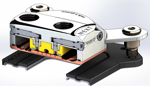 Aqua Computer Cuplex Kryos Next: Schematische Darstellung der Vario-Technik