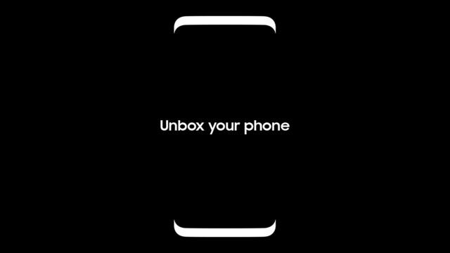 """Das einzige offizielle """"Bild"""" von Samsung zeigt die Grundzüge des Galaxy S8"""