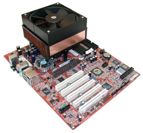 1A-HVL Prozessorkühler auf Abit K8V