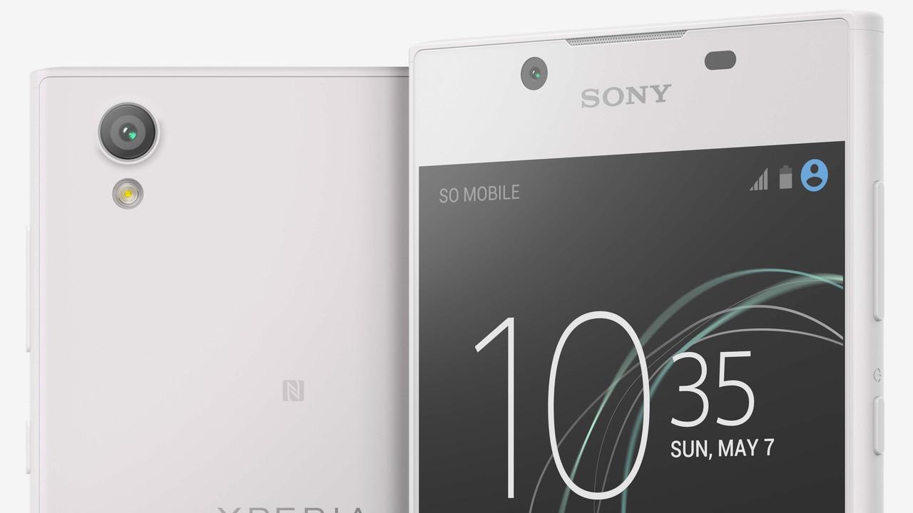 Sony: XperiaL1 kommt mit 5,5Zoll und Android7.0 für 199Euro
