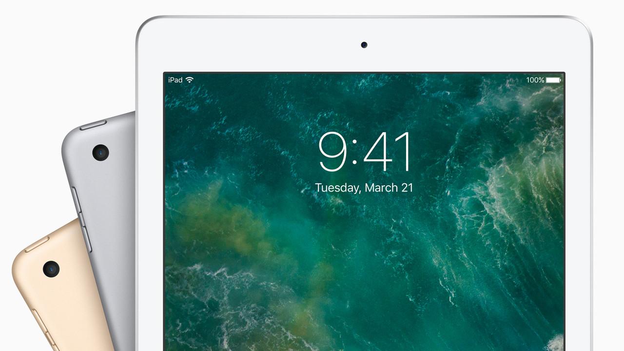 iPad (2017): Apple ersetzt das iPad Air 2 mit Verschlimmbesserungen