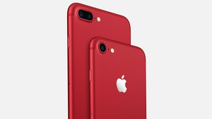 Apple: iPhone 7 Product Red in Rot, iPhone SE mit 128 GB