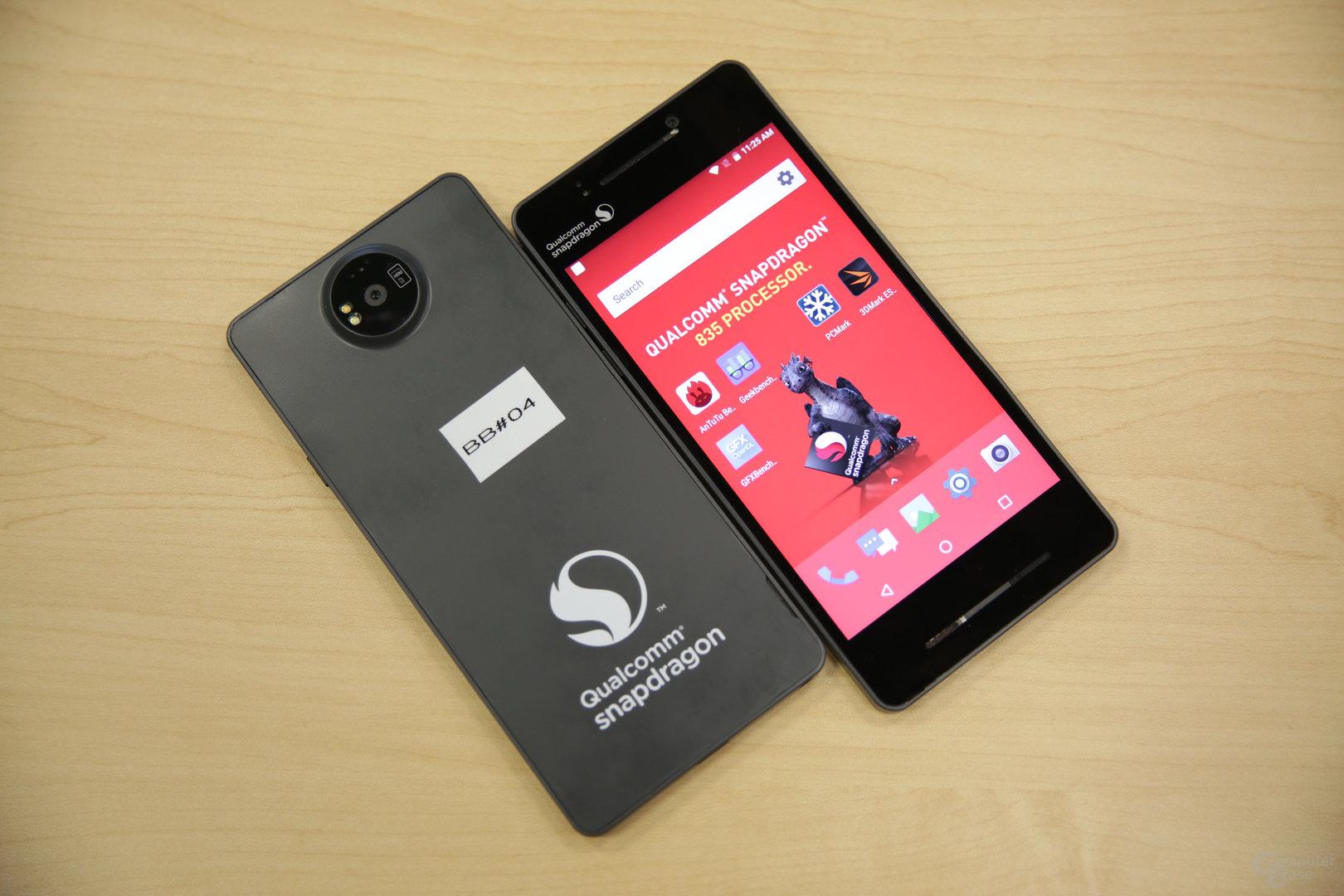Snapdragon 835 QRD läuft mit Android 7.1.1
