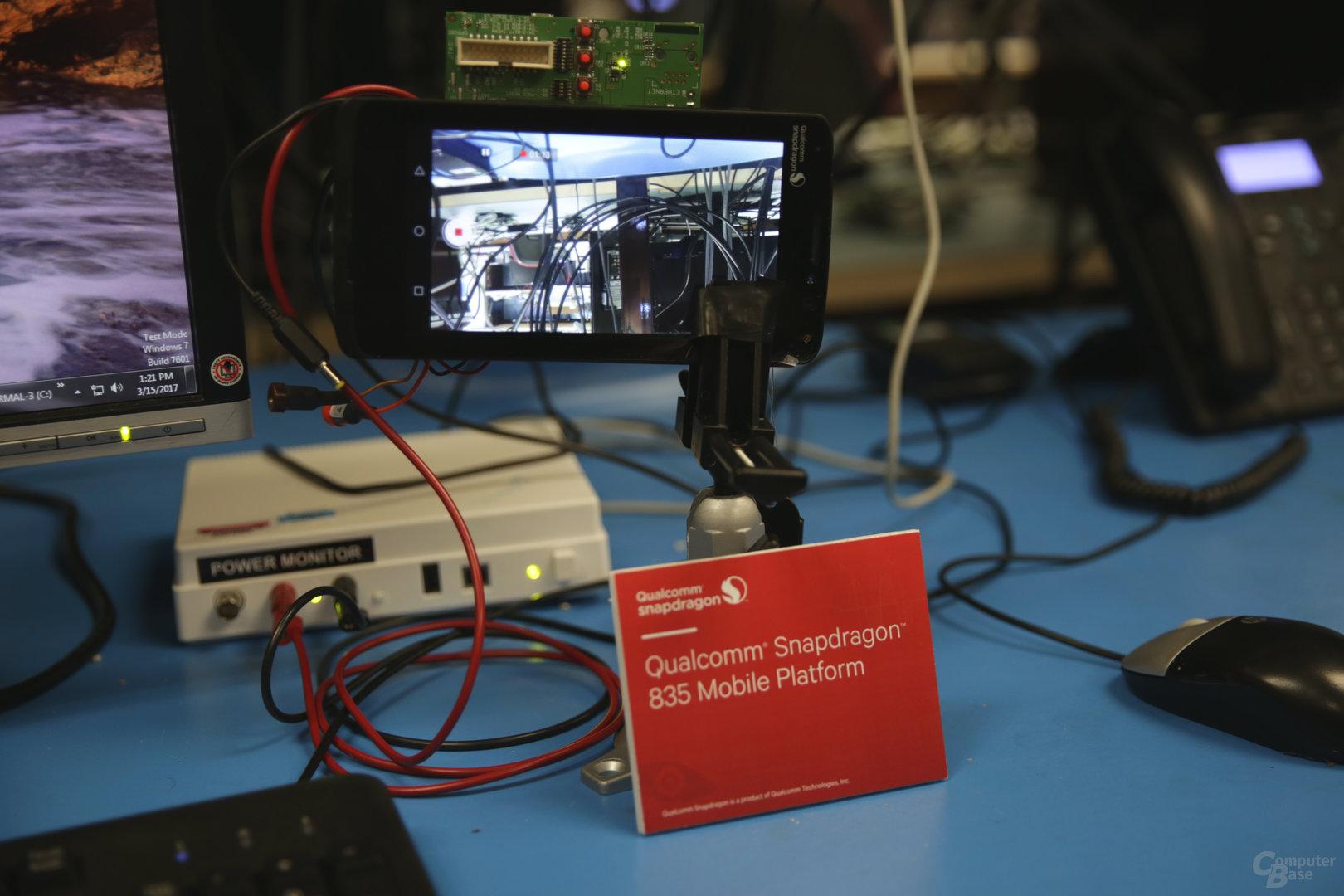 4K-Videoaufnahme auf dem Snapdragon 835