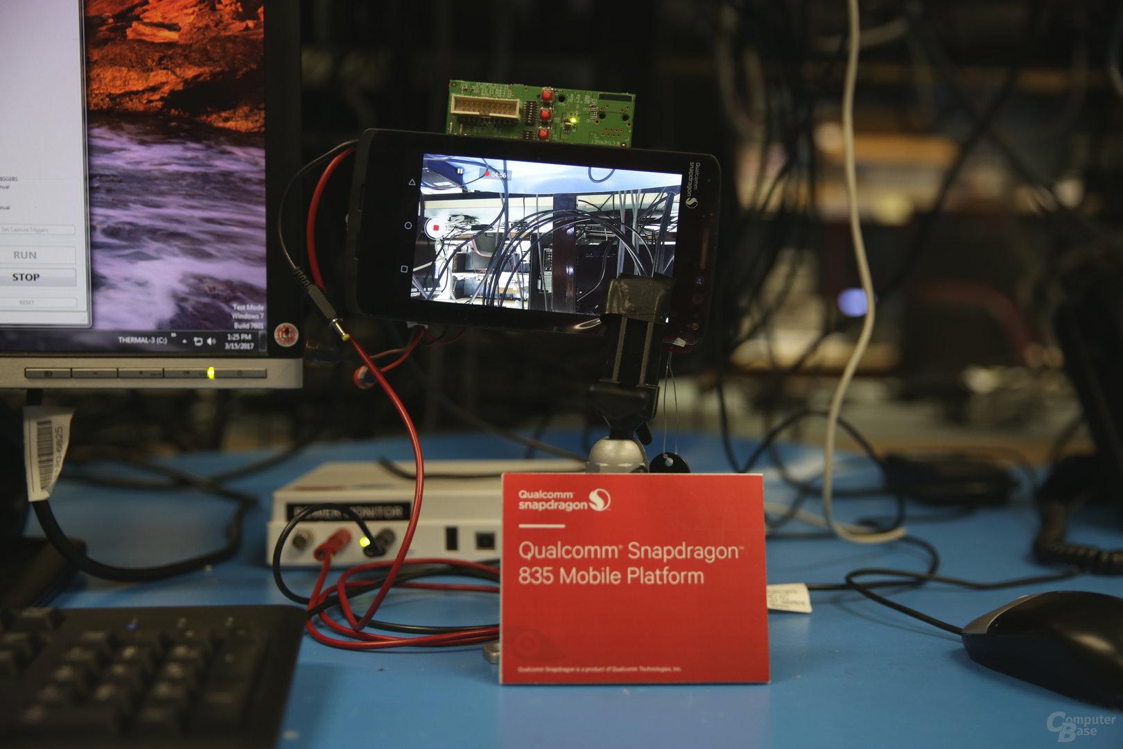 Test mit Snapdragon 835 MDP/S durchfg