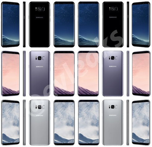 So sieht das Galaxy S8/S8+ letzten Leaks zufolge aus