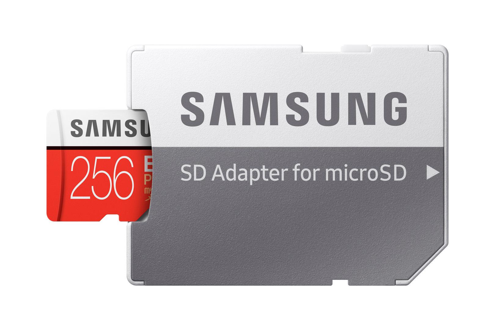 Samsung Evo Plus mit SD-Adapter