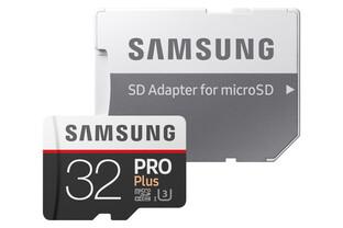Samsung Pro Plus mit SD-Adapter