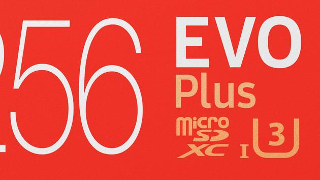 Evo Plus: Samsung beschleunigt und verdünnt microSD-Portfolio