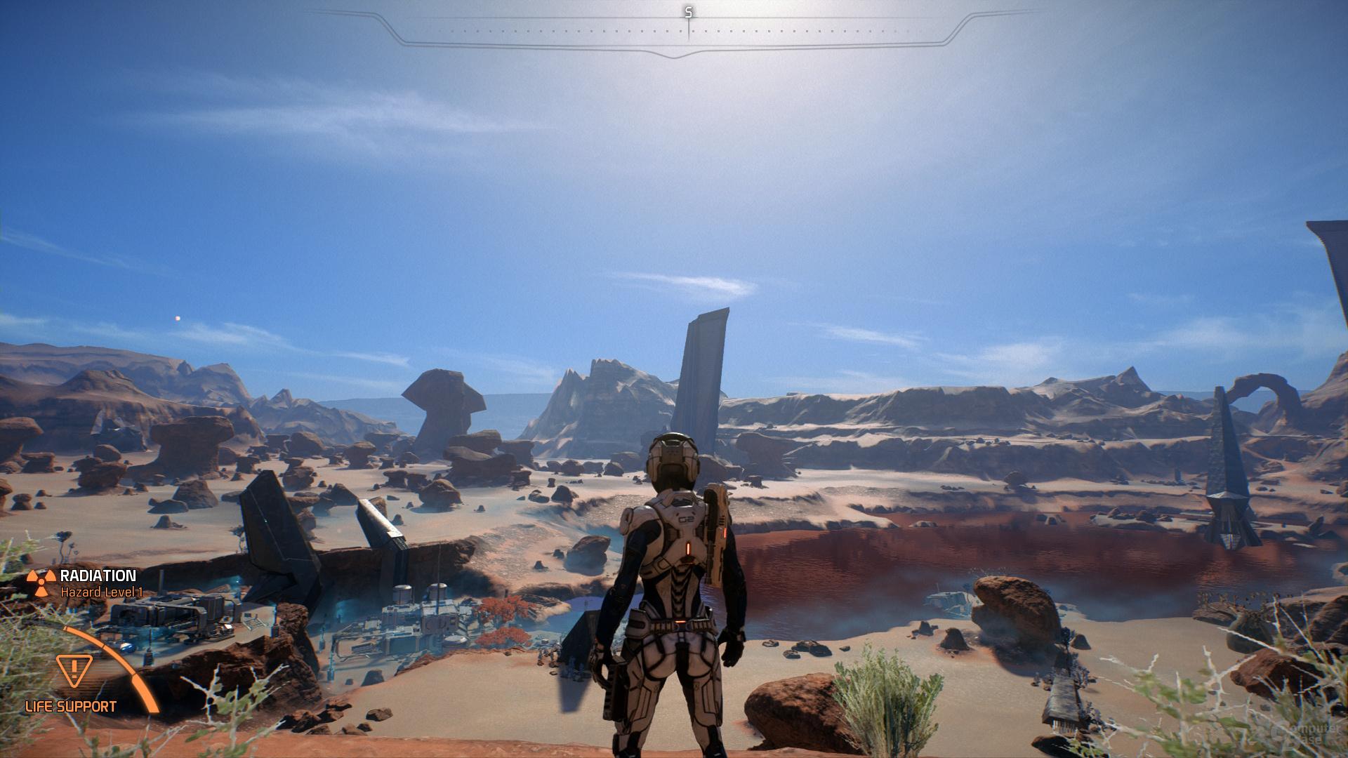 Mass Effect Andromeda – Tessellation-Faktor 2×