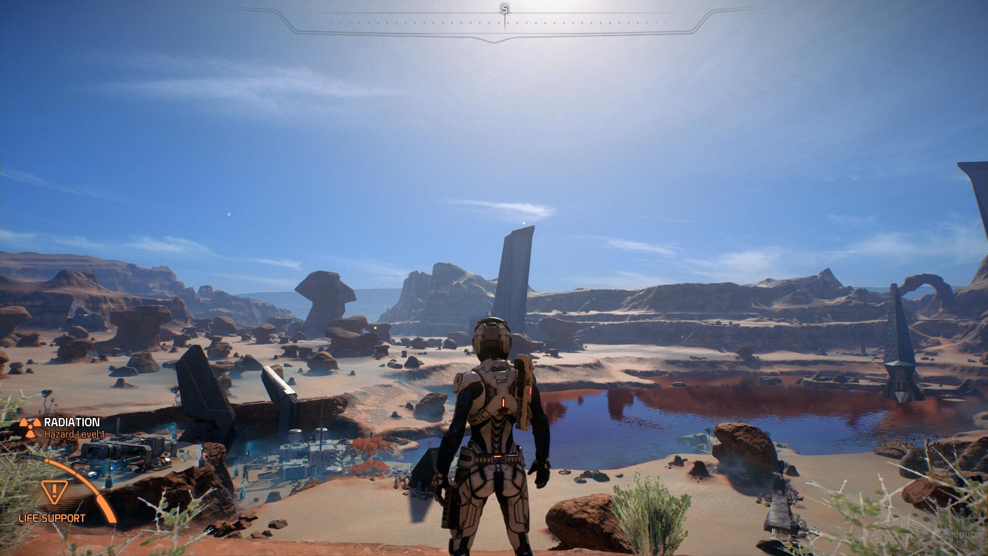 Mass Effect Andromeda – Tessellation-Faktor 6×