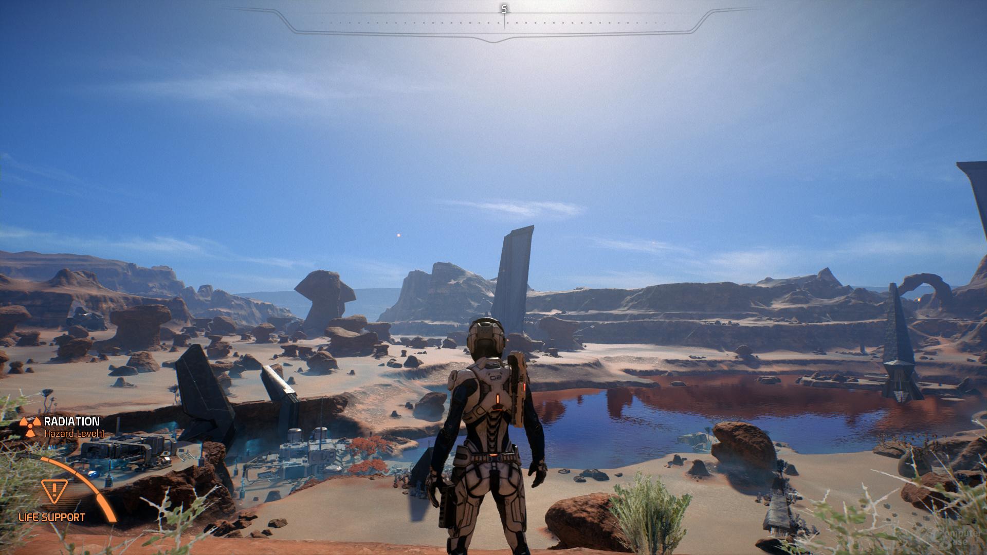 Mass Effect Andromeda – Tessellation-Faktor 8×